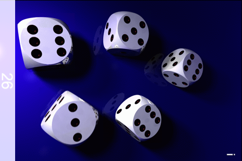 Screenshot Five Dice – 3D